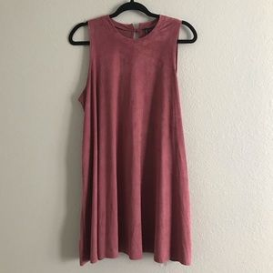 HEARTSOUL plush mini dress